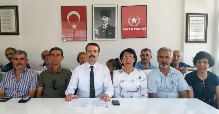 VATAN PARTİSİ'NDEN ÇEVRECİLERE SERT SUÇLAMA