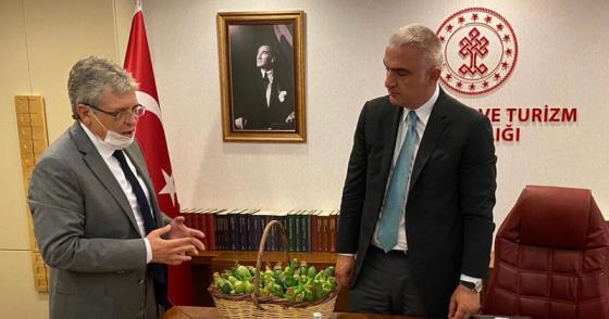 BAKAN ERSOY'DAN EDREMİT'E DESTEK SÖZÜ