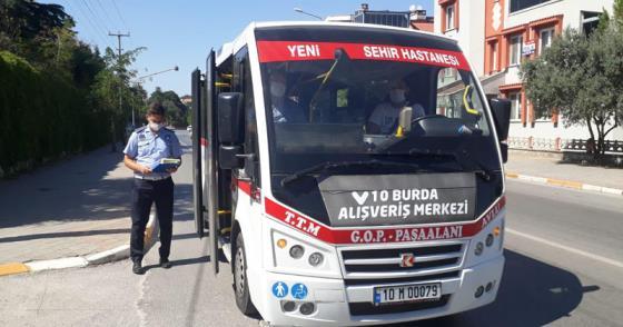 TOPLU TAŞIMA ARAÇLARINDA COVID-19 DENETİMİ