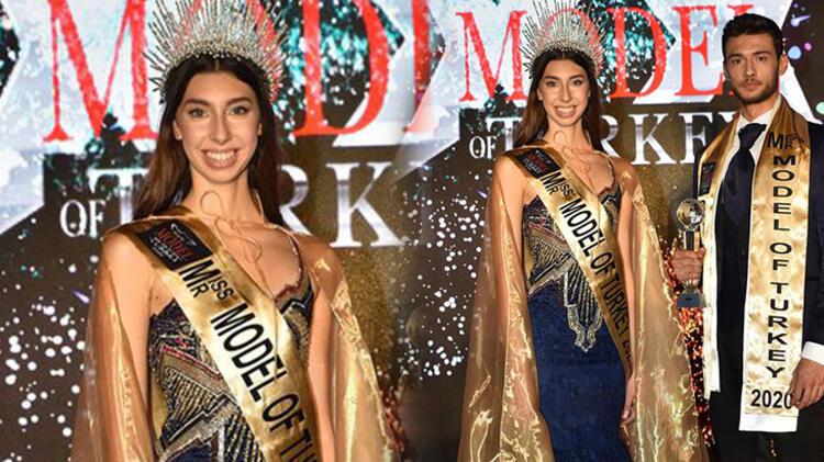 16 yaşındaki Ceyda Toyran, Miss Model seçildi