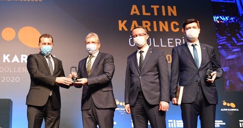 """BALIKESİR """"ALTIN KARINCA""""DAN 4 ÖDÜLLE DÖNDÜ"""