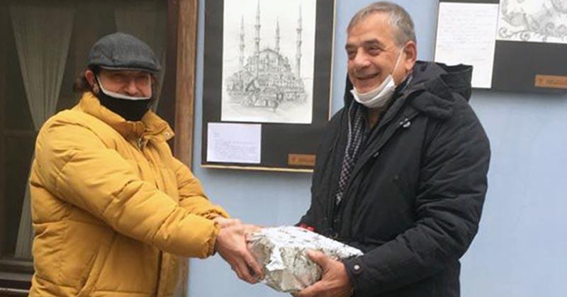 MİMAR SİNAN'I ESKİZLERLE ANDILAR