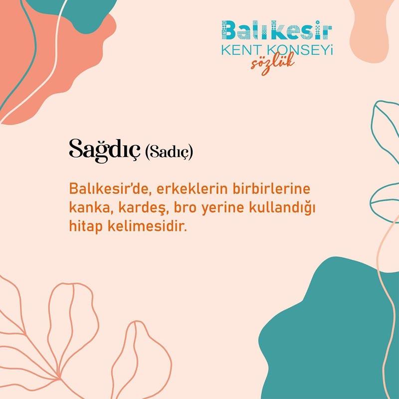 BALIKESİR'E ÖZGÜ KELİMELER