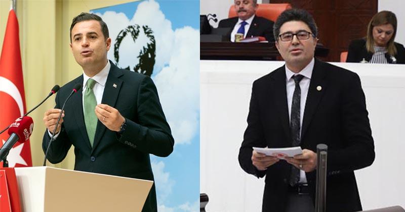 """CHP'Lİ AKIN VE AYTEKİN'DEN """"İHALE ÇETESİ"""" SORULARI"""
