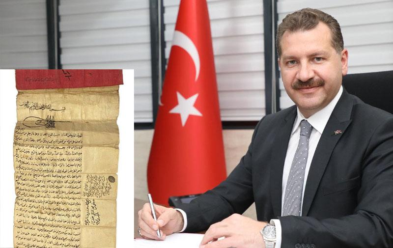 FATİH'İN ZAĞNOS PAŞA FERMANI BALIKESİR'E KAZANDIRILACAK